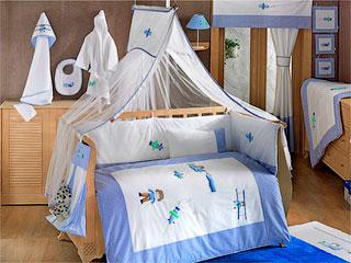 Комплекты в кроватку KIDBOO – удобно, практично и красиво.